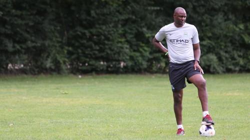 Patrick Vieira in training in Croatia MF3B3078