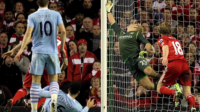 Joe hart save