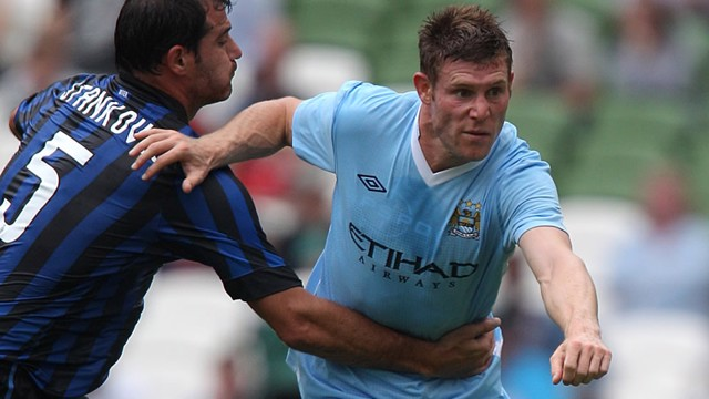James Milner Action