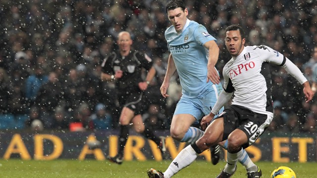 Gareth Barry Action fulham