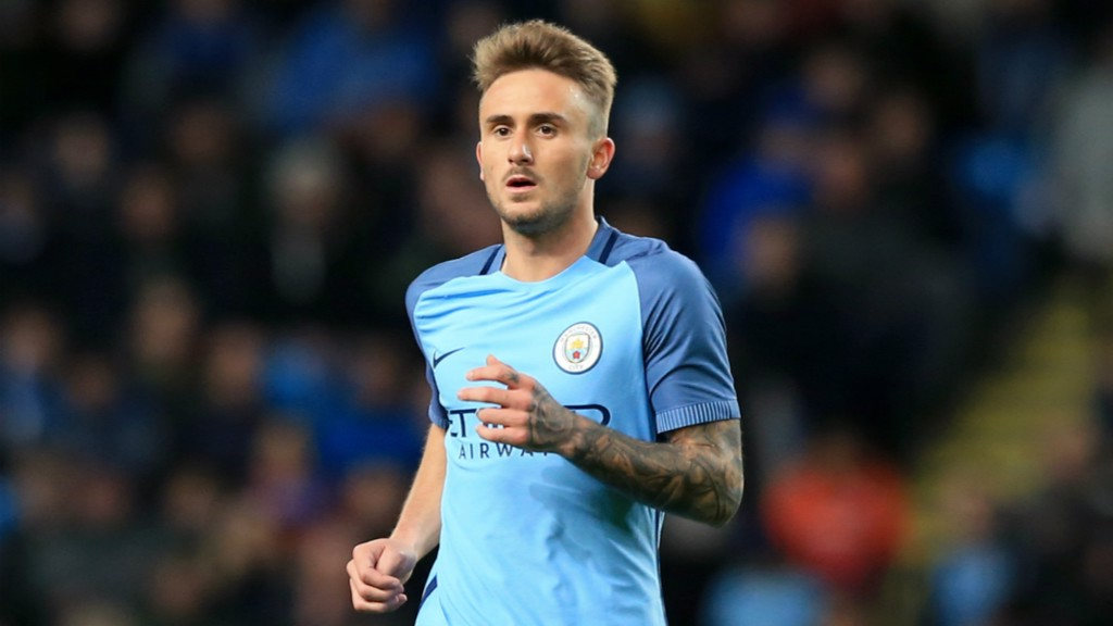 PLAYMAKER: Aleix Garcia put in another good performance in midfield.
