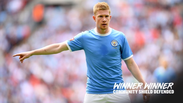 STAR MAN: Kevin de Bruyne was pivotal to City's victory against Liverpool.