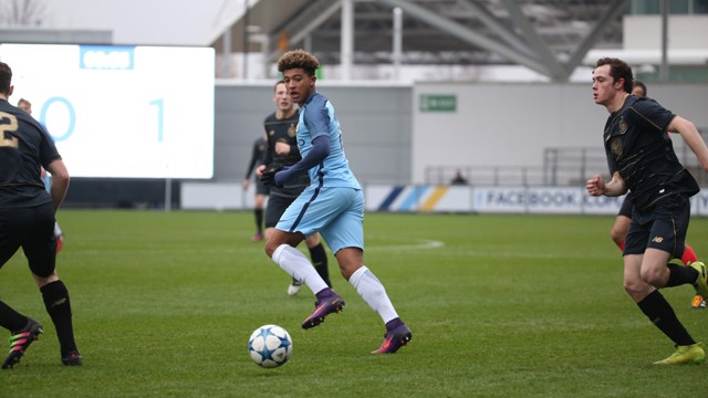 SANCHO: City's winger against the Scottish side