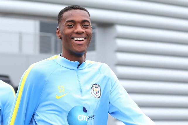 SMILES: Tosin heads out for training in a relaxed mood
