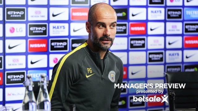 UPDATE: Guardiola previews the game with Stoke and tells us how Gabriel Jesus' recovery is progressing