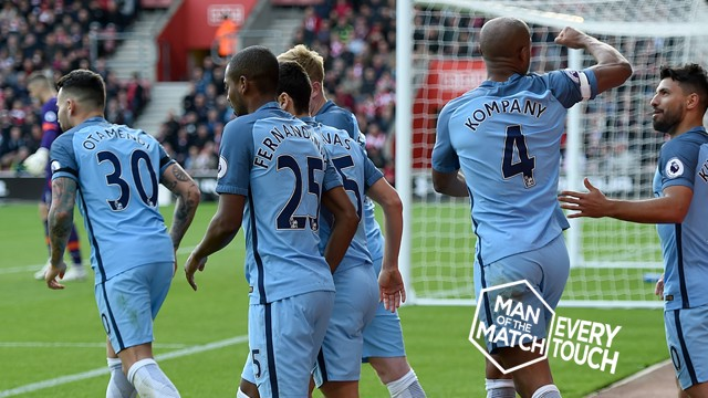 EVERY TOUCH: Relive the skipper's Man of the Match performance against Southampton