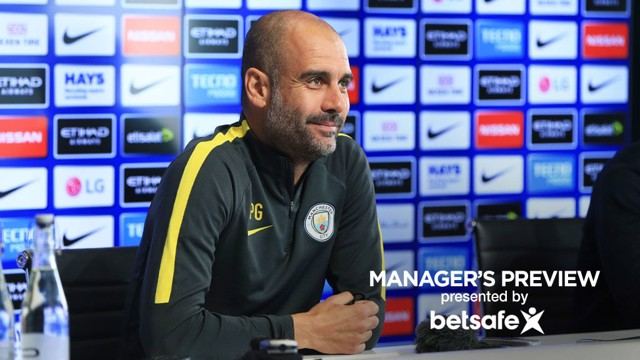 DERBY: Pep Guardiola delivered his team news ahead of City v United.