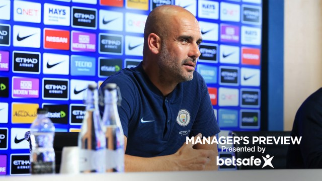PRE-MATCH: Pep addresses the media ahead of Brighton.