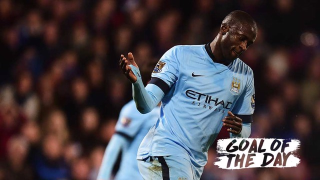 GOTD: Toure v Crystal Palace 1415