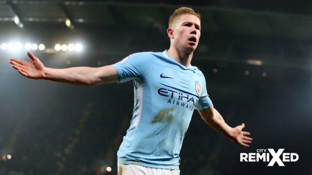 CITY REMIXED: In the latest instalment we look at KDB's left-footed strikes.