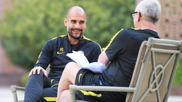 SIT DOWN: Pep Guardiola speaks exclusively to CityTV
