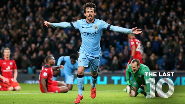LAST 10: City have scored some crackers against Leicester in recent seasons