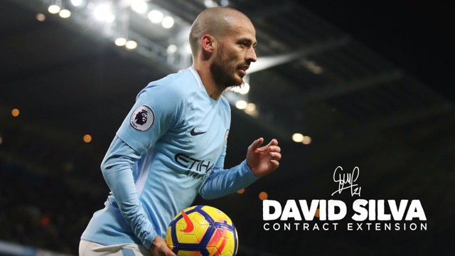 SILVA SHINES: Celebrate David's new contract by reliving his best bits