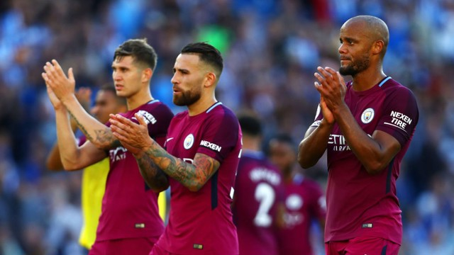 TRIO: City's defensive unit has been in fine form this season.