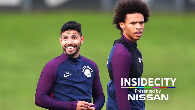 INSIDE CITY: Sergio Aguero's return to training features in our latest episode.