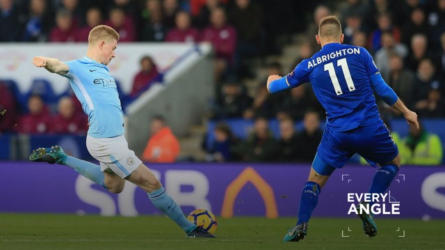 Every Angle Reboot: De Bruyne v Leicester- Manchester City FC