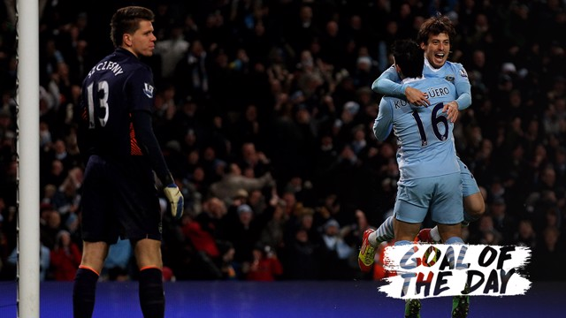 GOTD: Silva scored a cracker against Arsenal in 2011