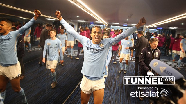 TUNNEL CAM: Behind the scenes at City v Leicester.