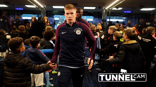 TUNNEL CAM: Take a look behind-the-scenes during City's 2-1 win over Bristol City in the Carabao Cup.