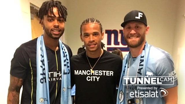 TUNNEL CAM: Go behind the scenes at the MetLife Stadium for City's friendly with Liverpool