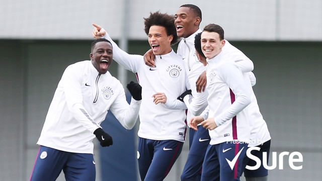 BEST OF TRAINING: A look back at our training-ground antics last season