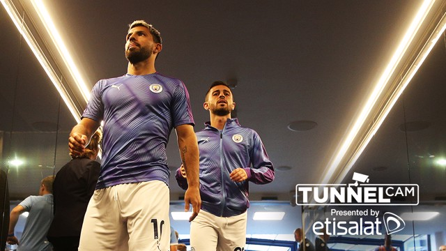 TUNNEL CAM: Behind-the-scenes against Brighton.